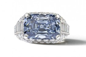Fancy deep-blue diamond sells for $10.8 million AUD